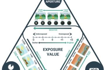 exposure triangle chart explained