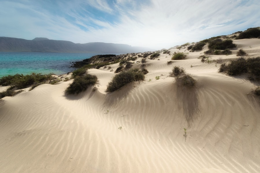 La Francesa beach, a beach to visit in La Graciosa