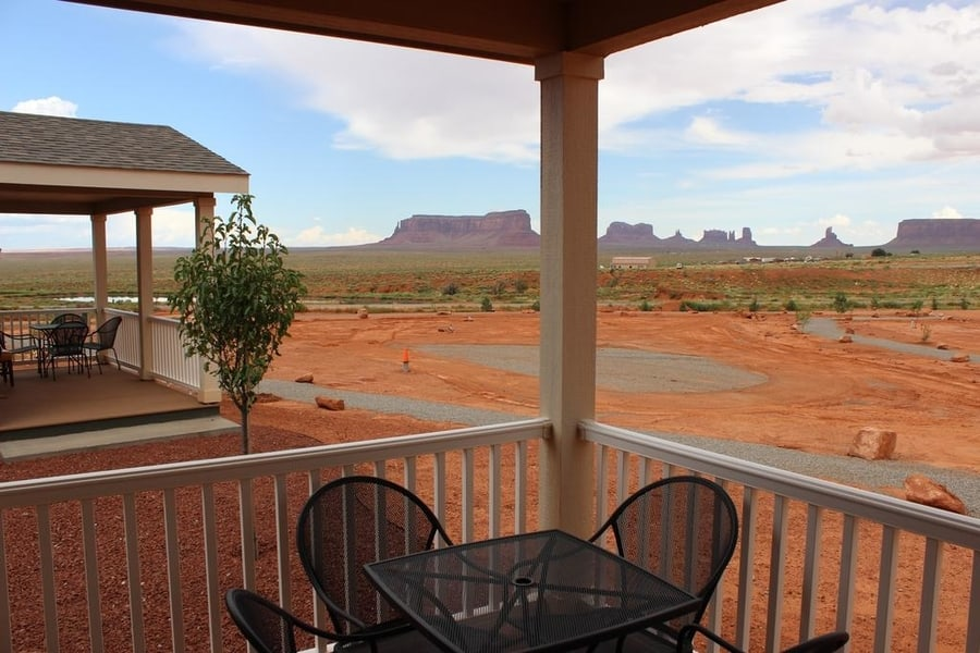 Goulding's Lodge Hotel, a good place to stay in Monument Valley