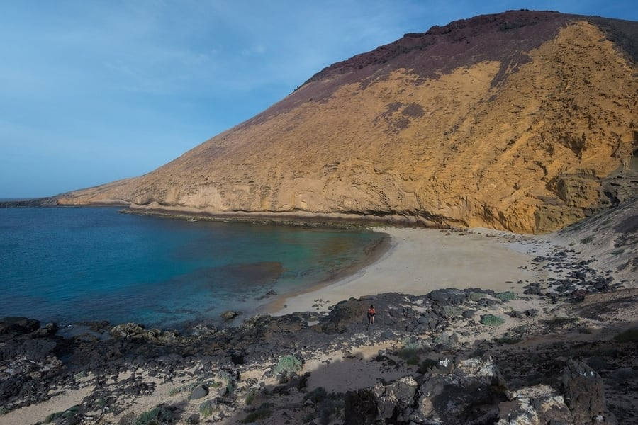 La Cocina, another beach in La Graciosa, Canary Islands