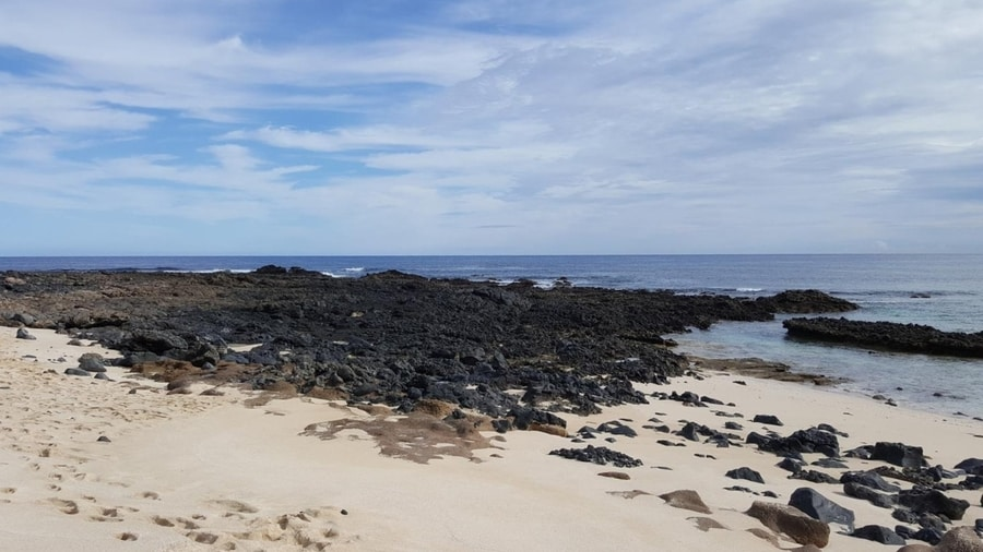 Playa Lambra, another beautiful beach to visit in La Graciosa