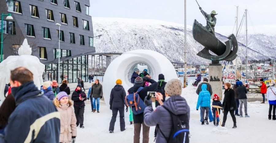 Torget, a place to go in Tromso