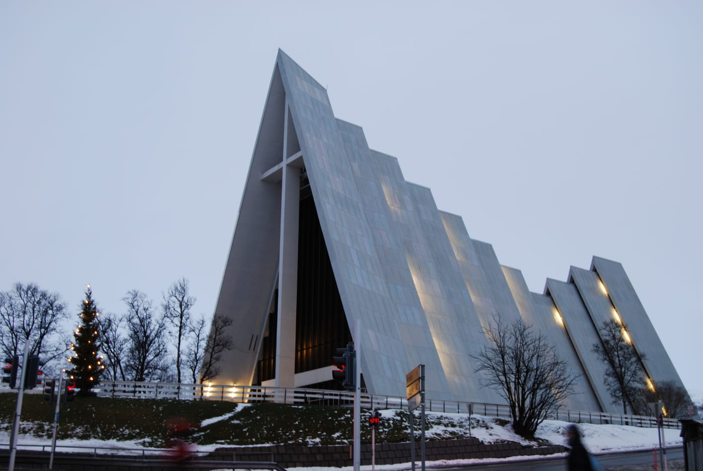 The Arctic Cathedral, a place to visit in Tromso, Norway