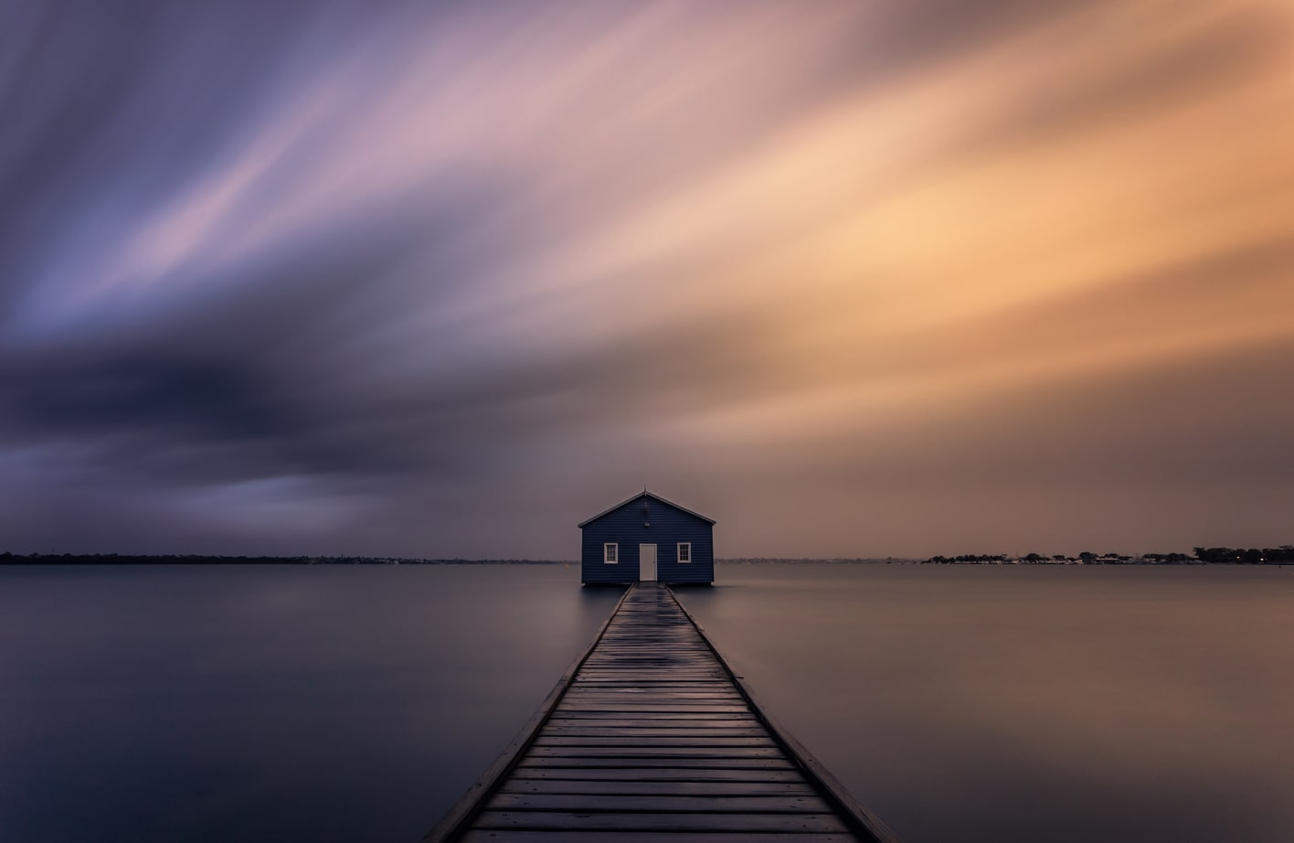 fotografiando nubes fotografía de larga exposición