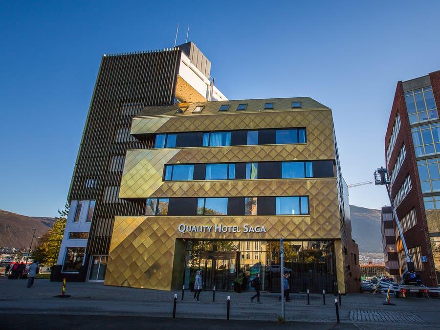 Quality Hotel Saga, un buen alojamiento en Tromso