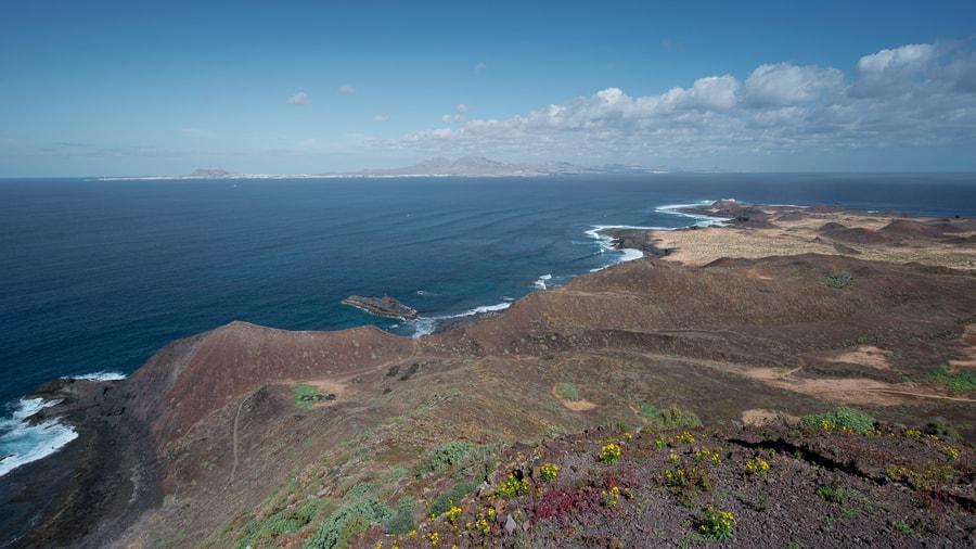 Montaña de la Caldera, las mejores vistas de Isla de Lobos