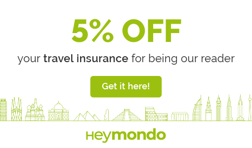 Discount in your travel insurance