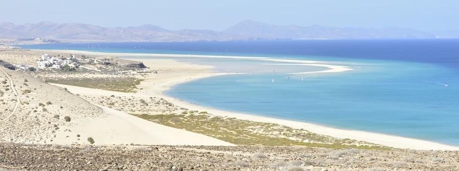 Playas de Jandía, un buen sitio donde dormir en Fuerteventura sur