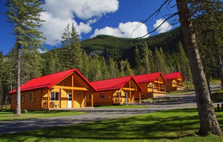 Jasper East Cabins, another good place where to sleep in Jasper