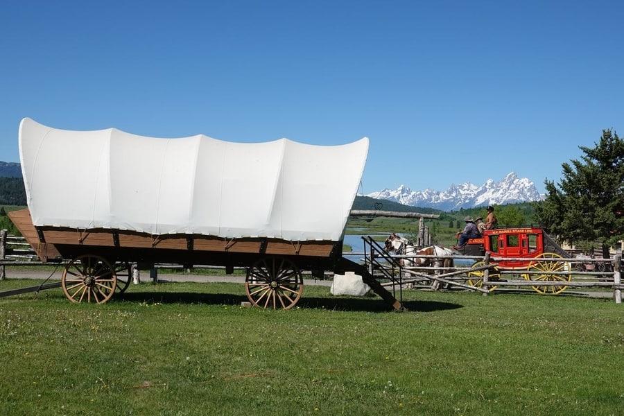 Buffalo Valley Ranch, an original place to sleep in Gran Teton