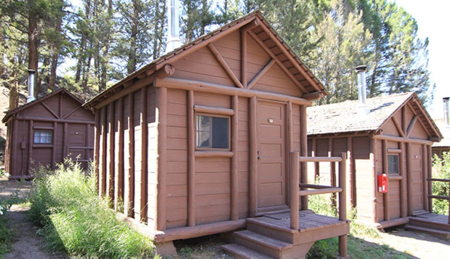 Roosevelt Lodge Cabins, one of the best areas to stay in Yellowstone