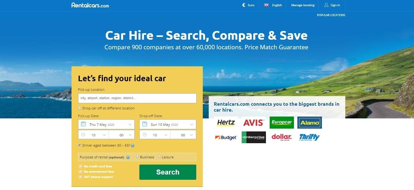 Compare rental car companies, how to get cheap rental car