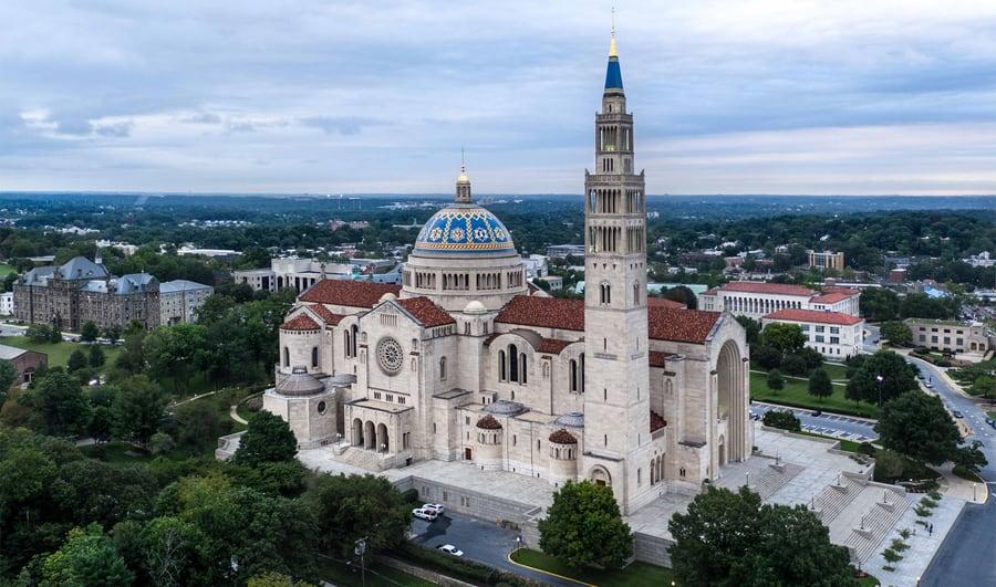 Basílica del Santuario Nacional de la Inmaculada, Washington D.C. qué ver