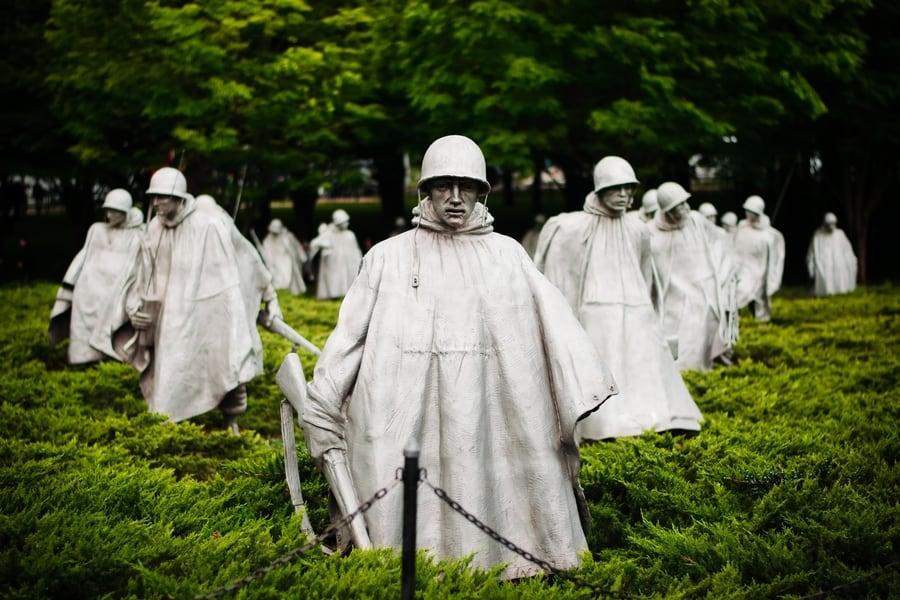 Memorial a los Veteranos de la Guerra de Corea, que ver en Washington D.C.