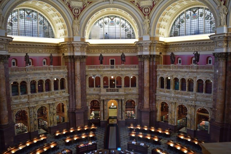 Biblioteca del Congreso de Estados Unidos, que se puede hacer en Washington