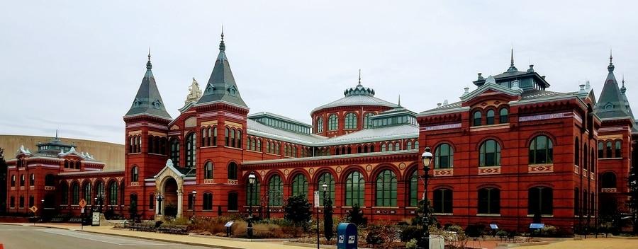 Smithsonian Institution, que visitar en Washington en invierno