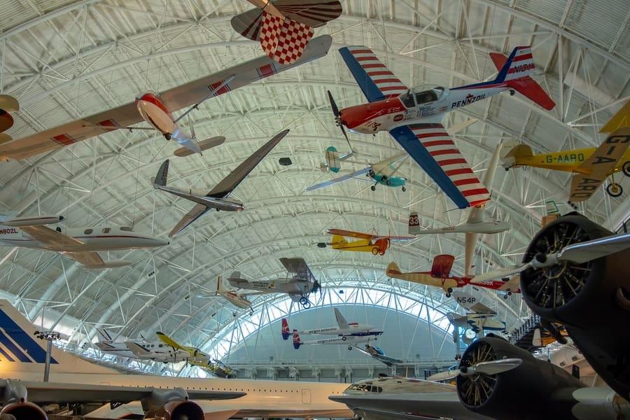 Museo Nacional del Aire y el Espacio de Estados Unidos, museos de Washington