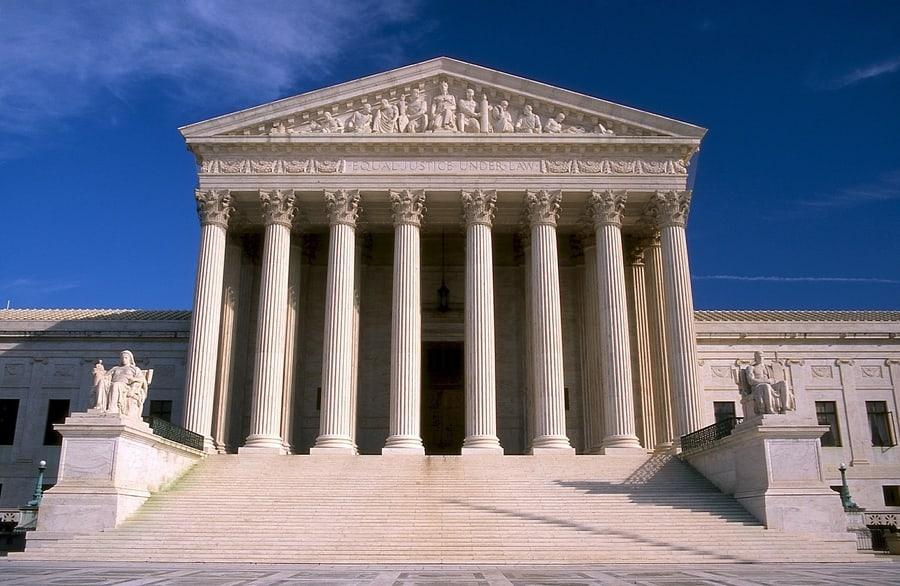 Corte Suprema de los Estados Unidos, algo que se puede ver en Washington