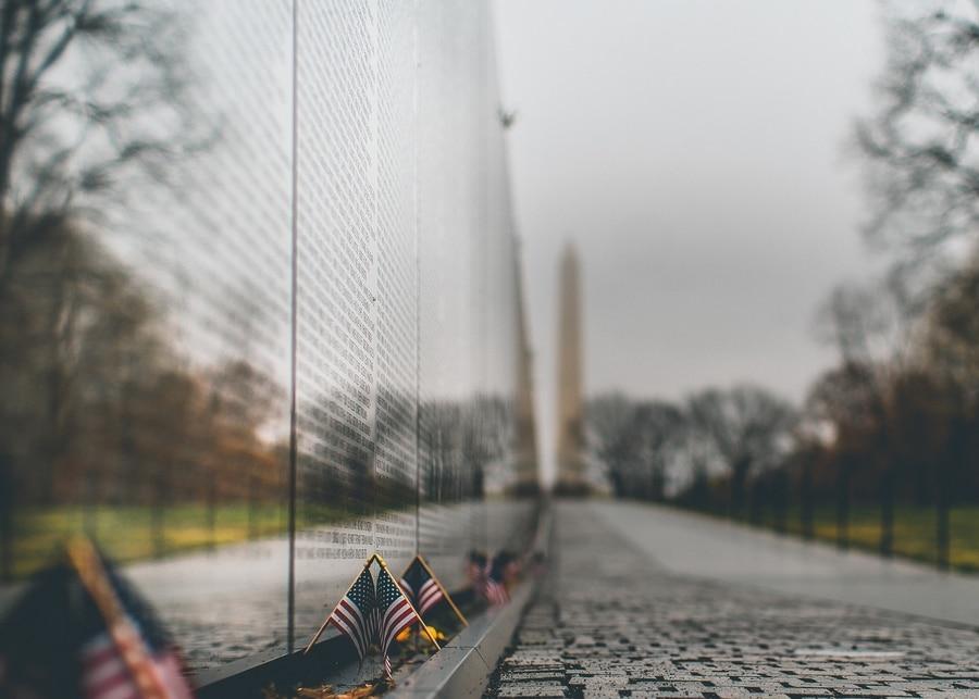 Memorial a los Veteranos de Vietnam, que ver en Washington D.C.
