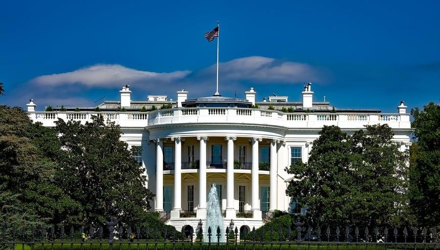 Casa Blanca, una de las cosas que visitar en Washington D.C. más importantes