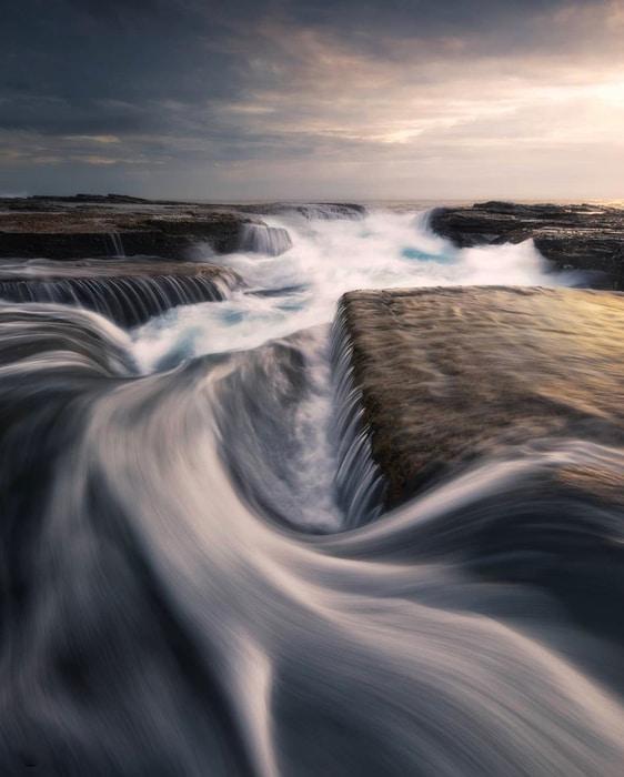 Como conseguir efecto seda fotografía de paisaje de larga exposición