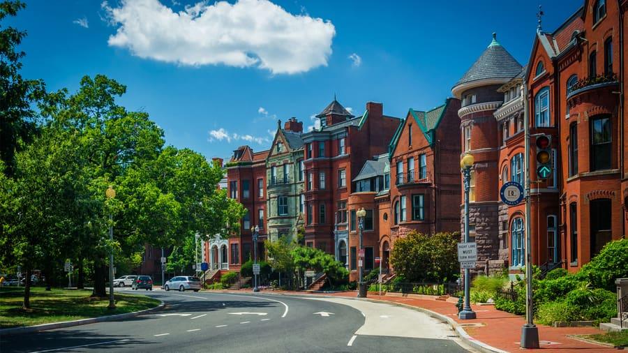 Logan Circle, una buena opción donde dormir en Washington DC