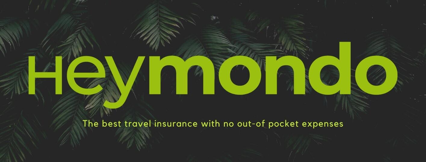logo heymondo travel insurance discount