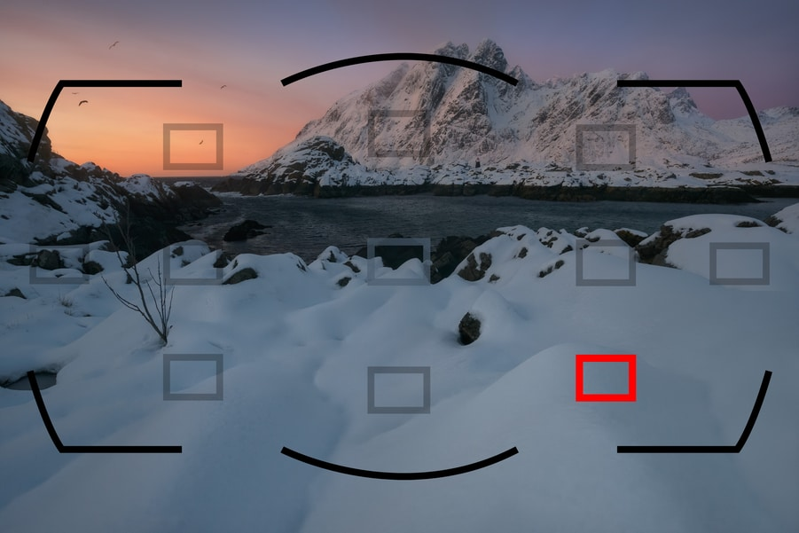 Focusing in landscape photography