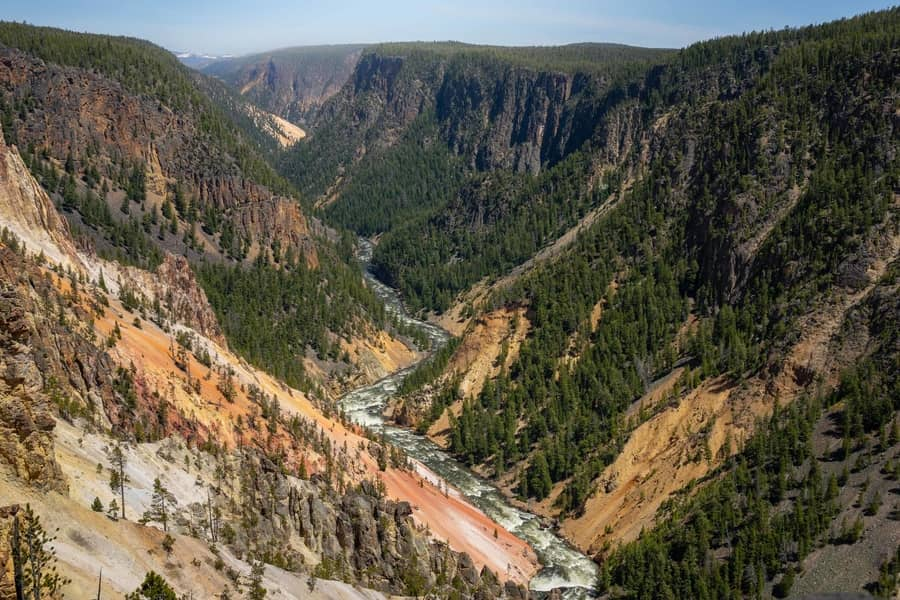 North Rim of the Grand Canyon of the Yellowstone, best of Yellowstone