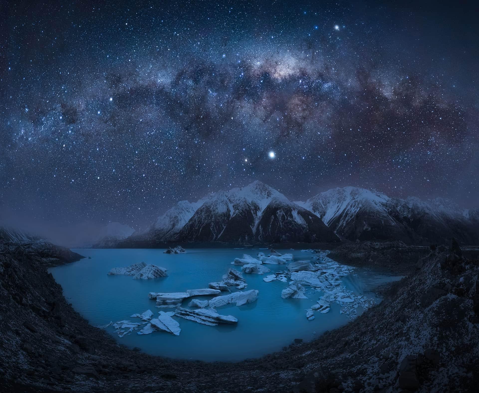 mejores imagenes de la via lactea en nueva zelanda