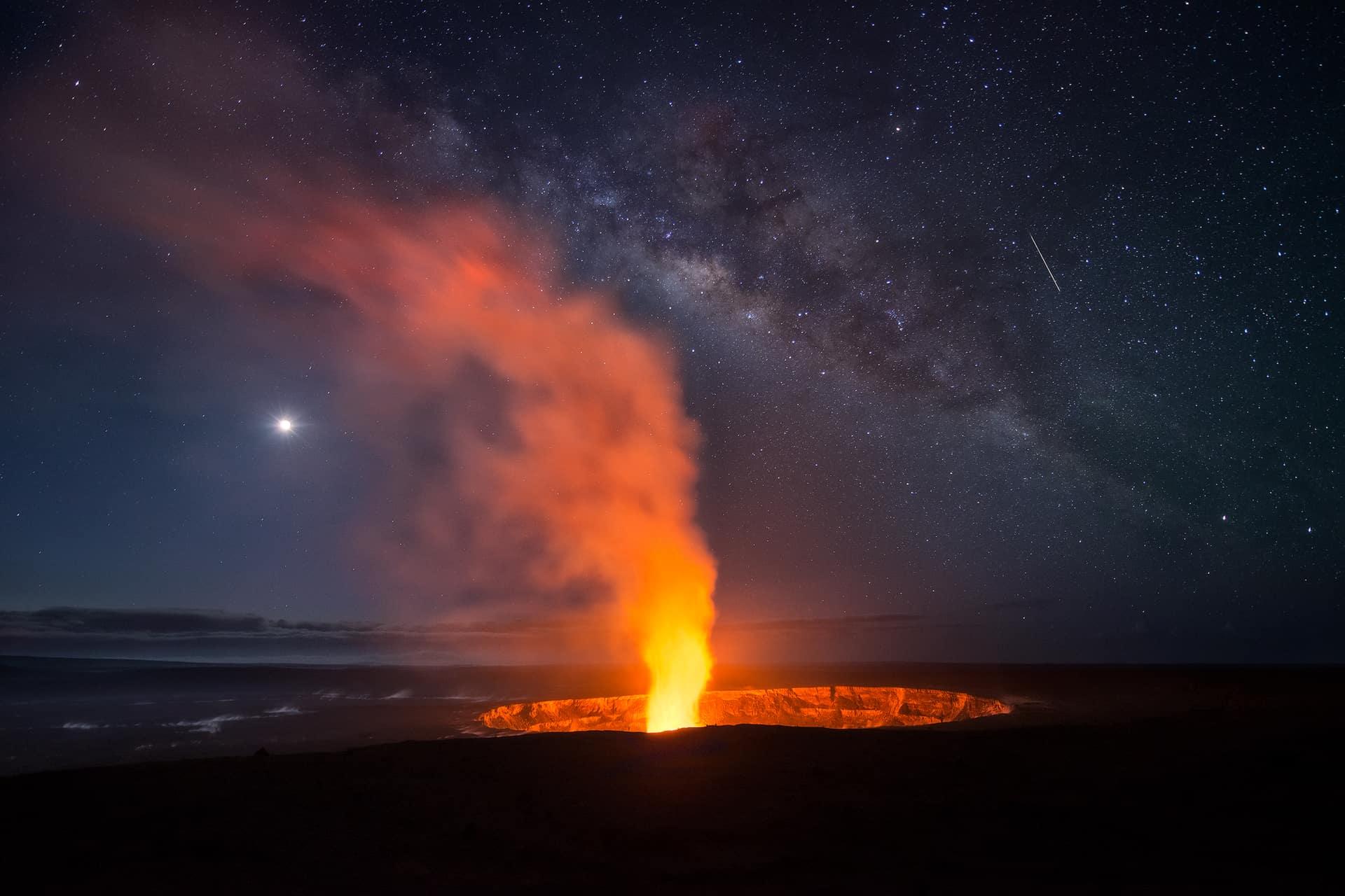 Best Milky Way images in Hawai