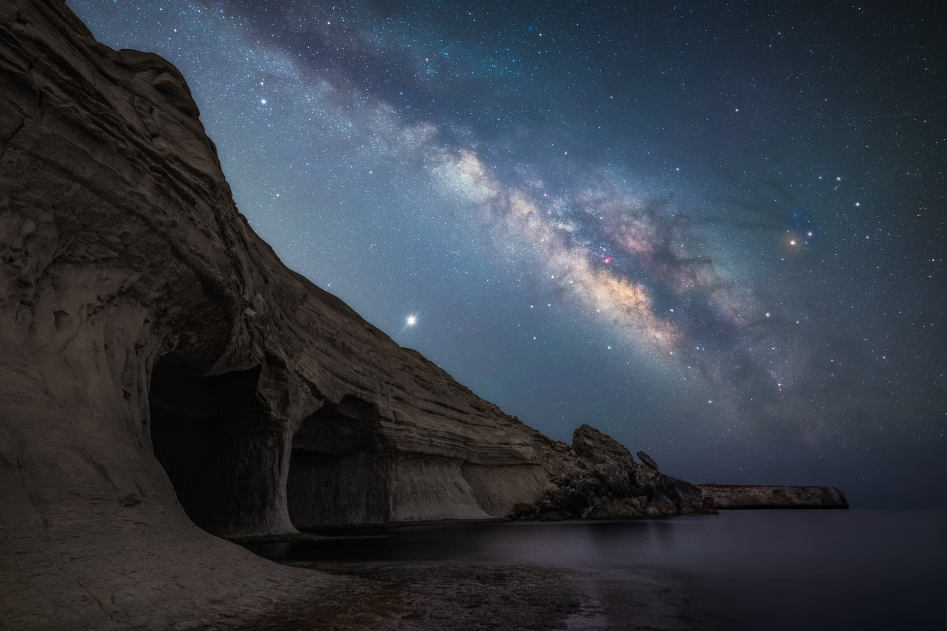 Best milky way photograph in Europe