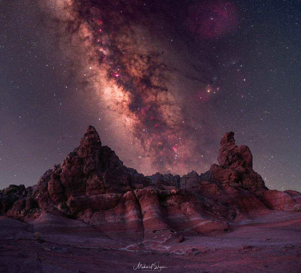 """""""Milky Way over Parque Nacional del Teide"""" – Mehmet Ergün"""