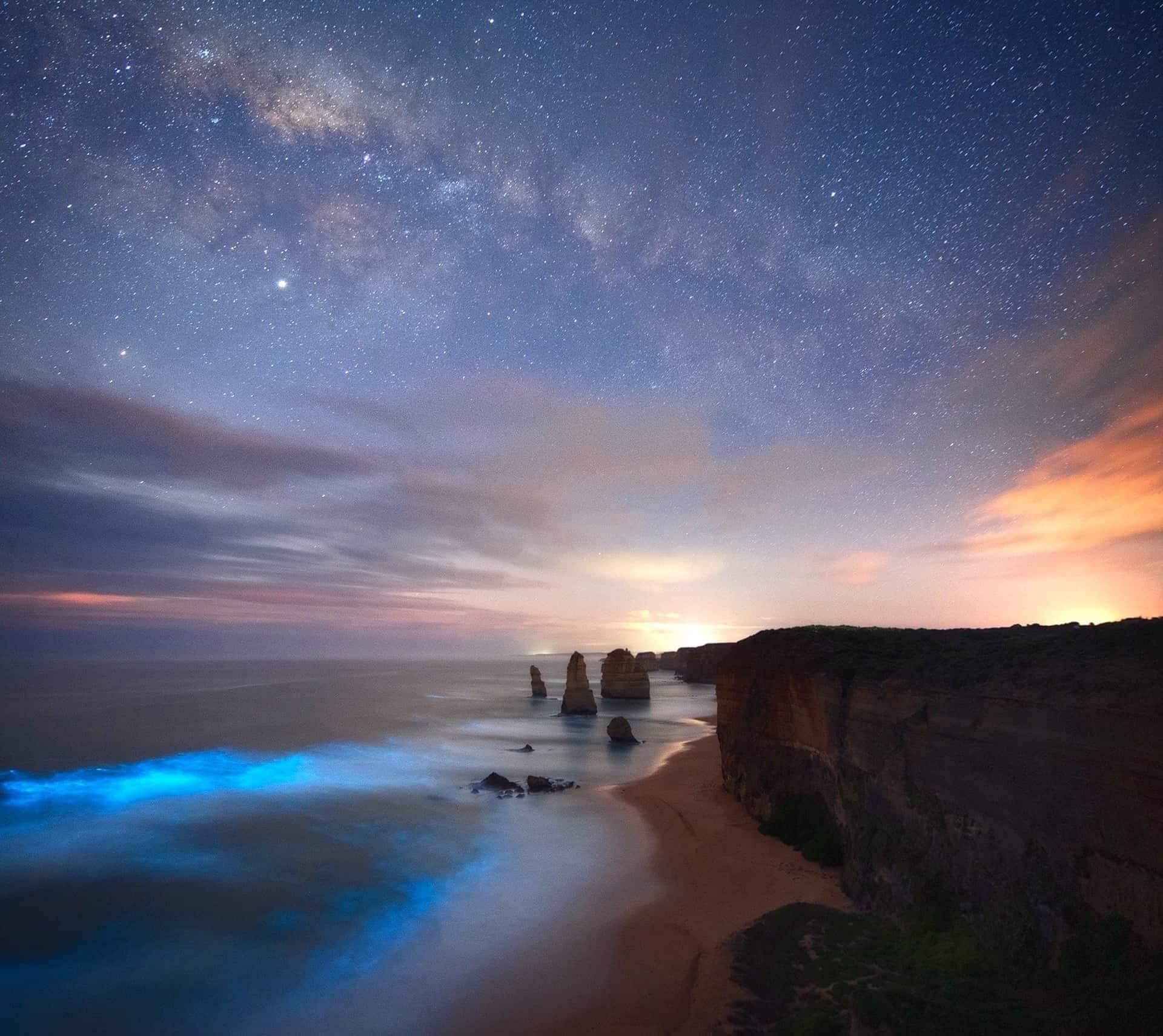 mejores imagenes de la via lactea desde australia