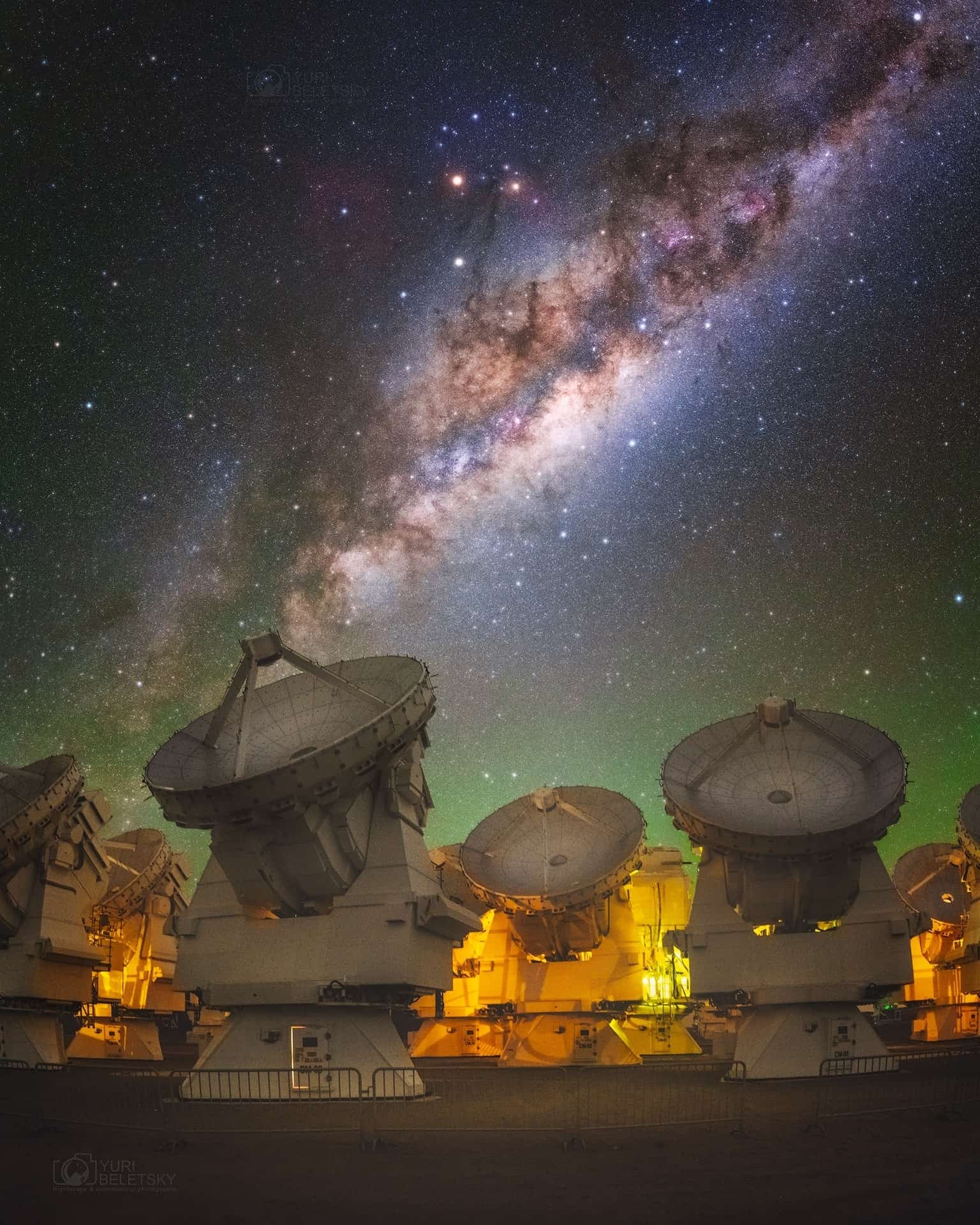 Best Milky Way image observatory