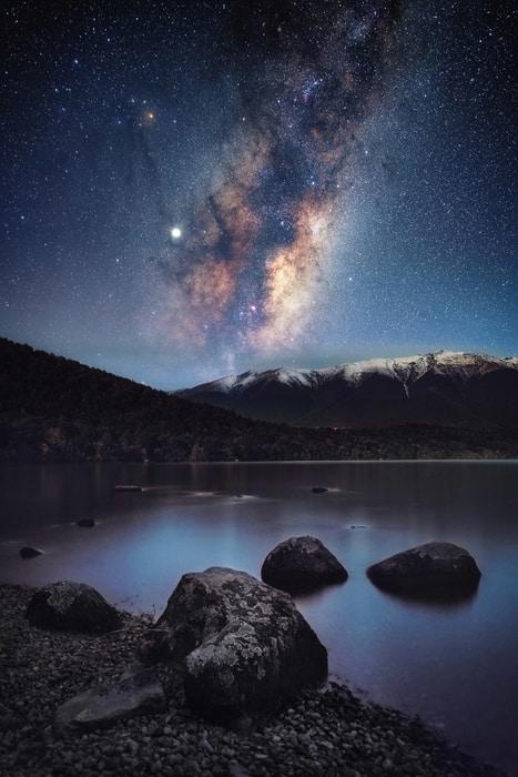 Mejores fotos de la Vía Láctea en el hemisferio sur