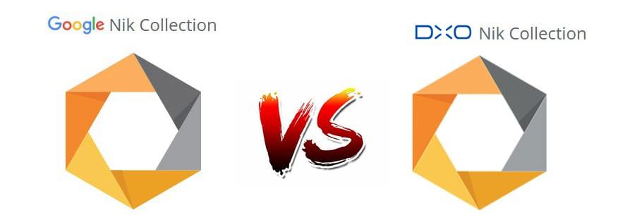 Nik Collection de Google vs. Nik Collection de DxO