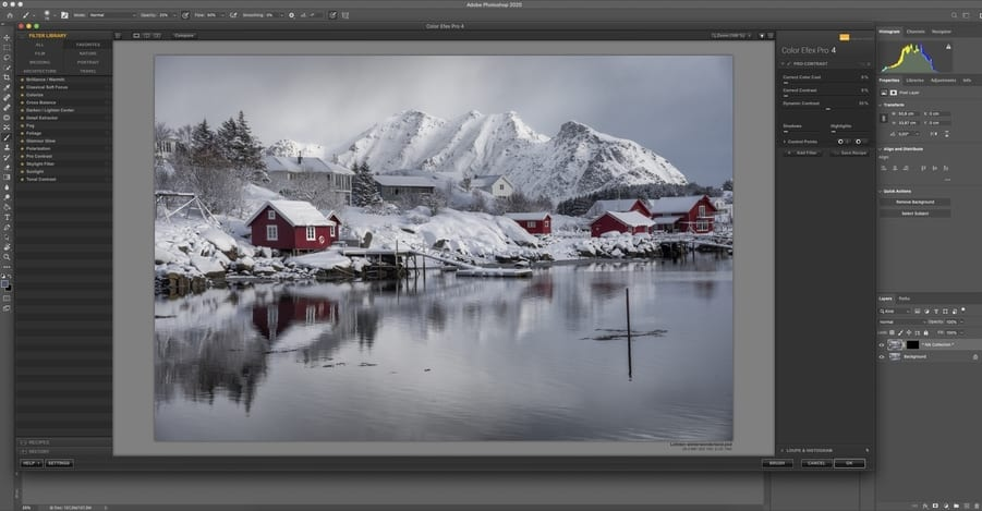 How to use Nik Collection in Photoshop
