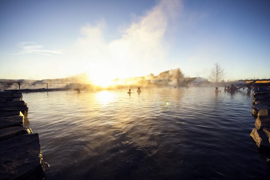 The Secret Lagoon, Golden Circle, Iceland