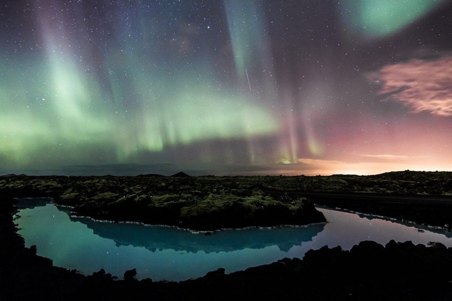 Blue Lagoon and Northern Lights Iceland