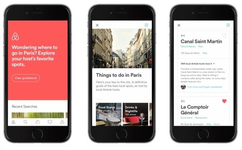 Airbnb app con descuento