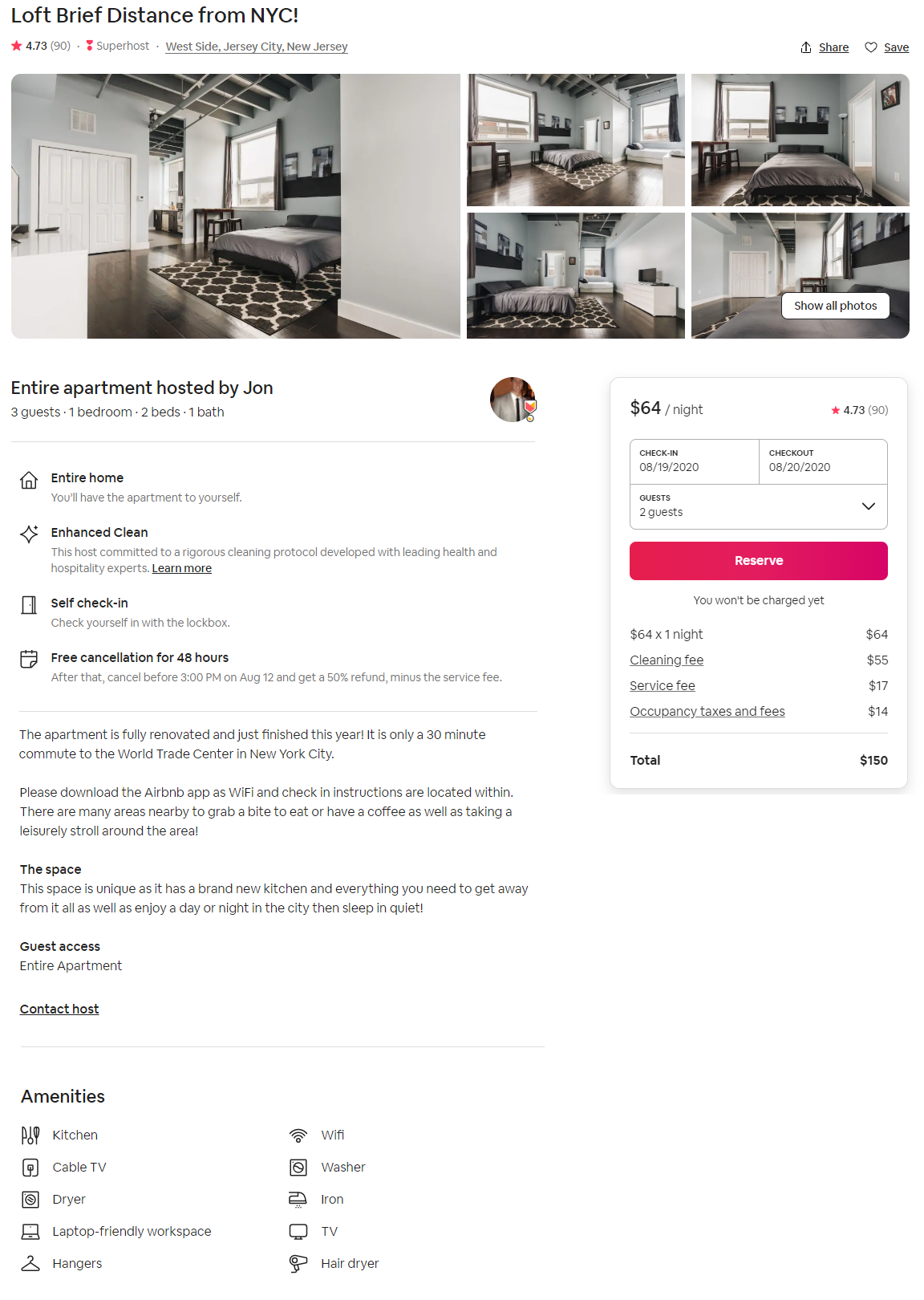 Airbnb first time booking coupon code