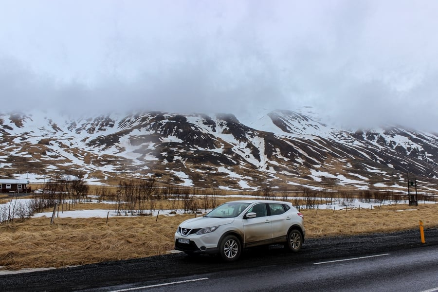 Rent a 2wd car in Iceland