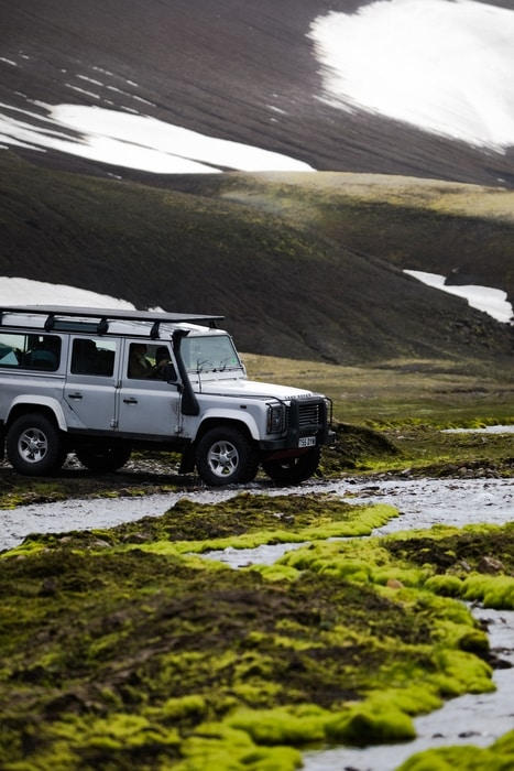 What type of car to rent in Iceland
