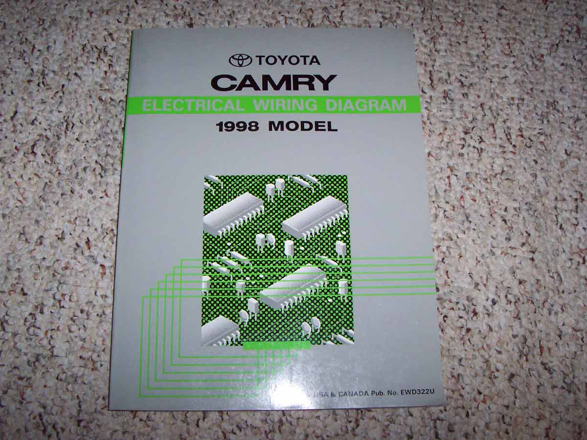 1998 Toyota Camry Electrical Wiring Diagram Manual