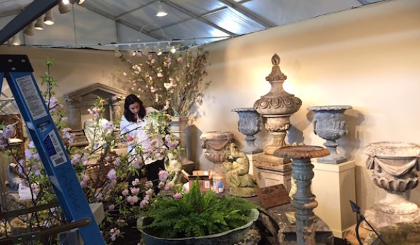 Exhibiting at the NYBG Antique Show