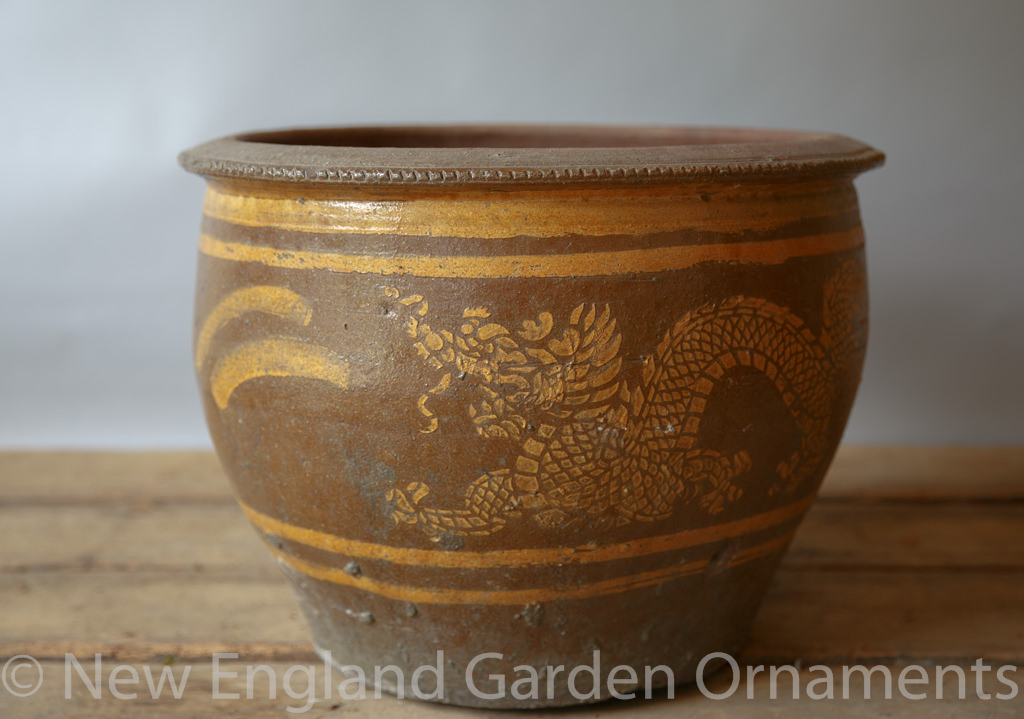 Antique Chinese Planter New England Garden Ornaments