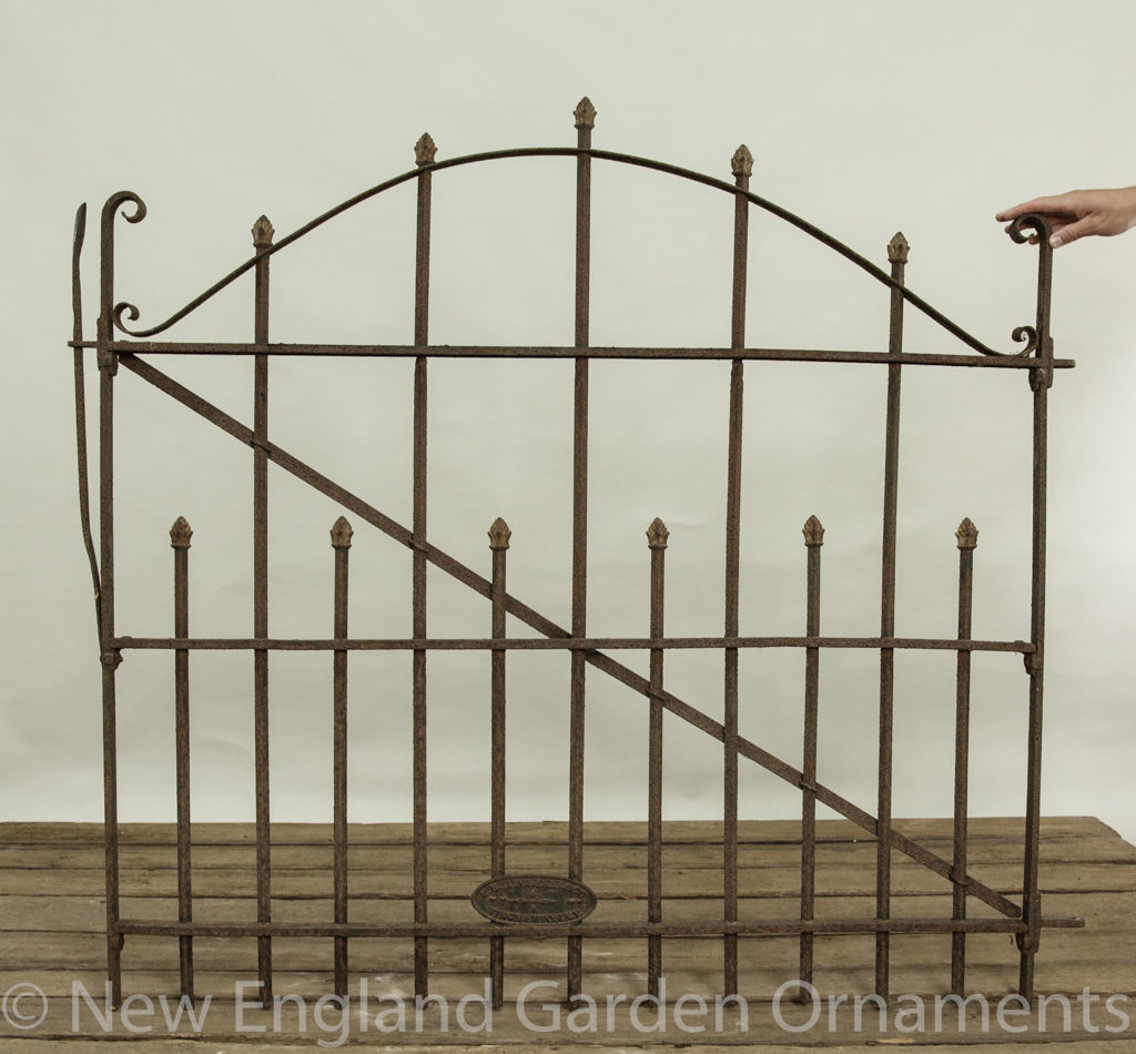 Antique American Cast Iron Gate