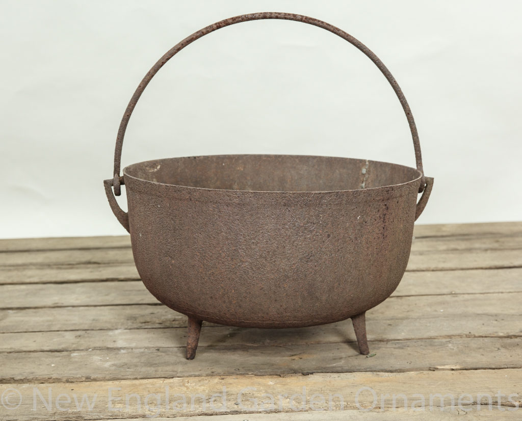 Large Iron Cauldron