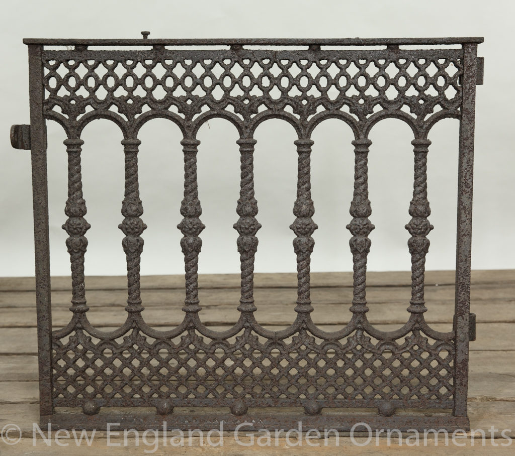 Antique Cast Iron Gate, Small